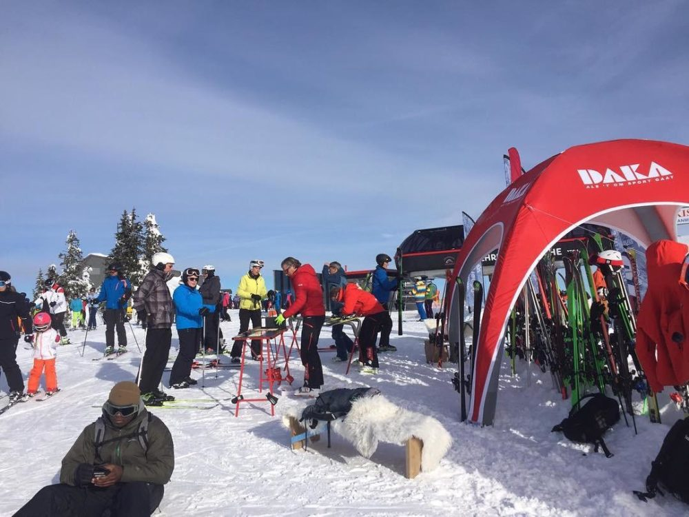Burning Ski Festival | Kirchberg | DAKA skitest | Double Dutch Mountain Events