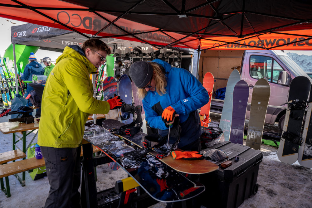 De Winteropening | Nitro Snowboard Test | Sölden | Double Dutch Mountain Events