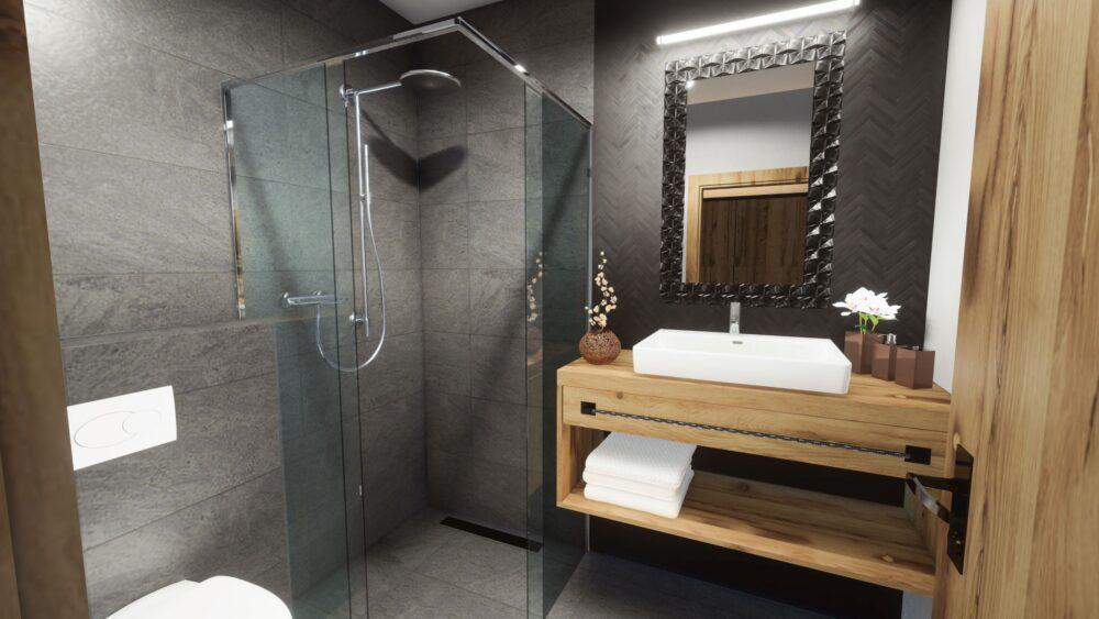 Badkamer Appartement Fugen | Double Dutch Real Estate